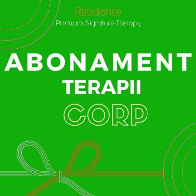 ABONAMENT - TERAPII CORP