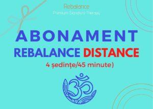 ABONAMENT ReBalance Distance (4 ședințe x 45 min)